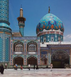 its located in Tehran, called Imam Zade Saleh - Iran