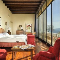 What a lovely view from the bedroom at Hotel Villa Michelangelo - Arcugnano, Italy