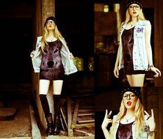 Fashion Union Boots, Renner Vest