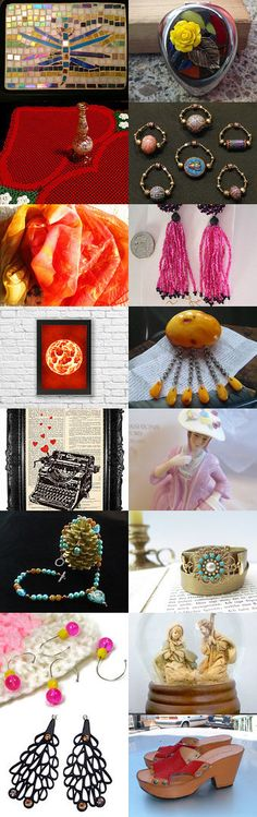 Lovely Gifts For Christmas! by Lynn on Etsy--Pinned with TreasuryPin.com