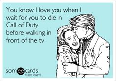 """For my gamer husband. Either wait till a pause or you die and then it's a green light to walk through. BUT after a death he gets a kiss and """"try better next time"""" lol."""