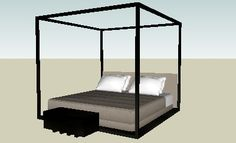 B Italia Maxalto - ACLE Bed and complements