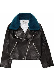 If I had the money ugh. Tempted to buy a leather and sew faux fur on the collar.. or make a detachable one