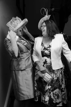 The Mother-in-Laws sharing a joke #wedding #weddingphotography #Bathphotographer #bride #bridal #groom #inlaws #motherinlaw #natural #laughing #funny #blackandwhite #b&w