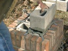 Building a brick mailbox will provide curb appeal to your home while protecting your mailbox from vandalism. Brick Projects, Outdoor Projects, Outdoor Decor, Outdoor Ideas, Outdoor Living, Diy Projects, Brick Columns, Brick Walkway, Stone Pillars