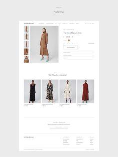 on Behance Ecommerce Website Design, Website Design Layout, Branding, Brand Identity, Minimal Web Design, Graphic Design, Catalog Design, Mobile Design, Interactive Design