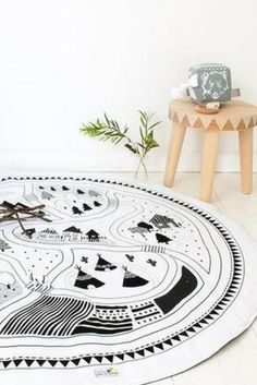 Cheap decor, Buy Quality mat cushion directly from China mat Suppliers: Kids Game Mats Baby Crawling Blanket Cotton Chilren Padded Play Mat/ Round Racing Games Carpet Play Rug Kids Room Decor Monochrome Nursery, White Nursery, Crawling Baby, Black And White Baby, Pure White, Childrens Room Decor, Playroom Decor, Bedroom Carpet, Baby Bedding