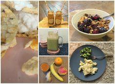 Clean Eating Week Two, Breakfast suggestions