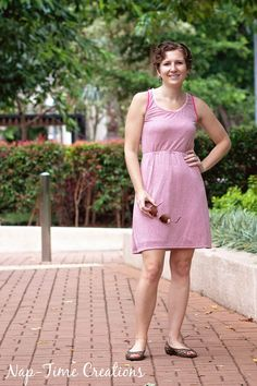free womens tank dress pattern 1