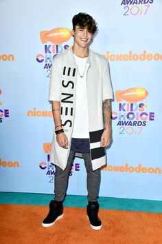 Internet personality Alex Mapeli at Nickelodeon's 2017 Kids' Choice Awards at USC Galen Center on March 11, 2017 in Los Angeles, California.