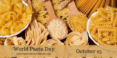 World Pasta Day - October 25 (1)