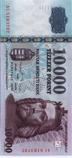 Banknote, Hungary, Money, Golden Roses