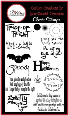 Eye on Halloween Stamp Set