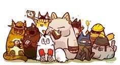 mozumo:   ω - Entire team is babies....