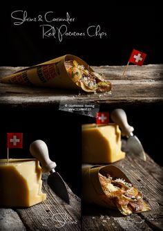 Ed ecco la terza classificata: il blog Like Eat ha preparato delle buonissime patatine fritte con Sbrinz e coriandolo!