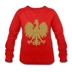 Polska Sweater Women (*Gold Glitzer*) - Frauen Sweatshirt von Stanley & Stella