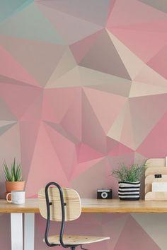 apex geometric wallpaper rose gold fine decor fd41993 home art rh pinterest com