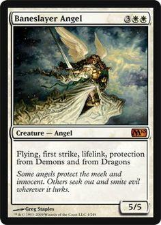 Magic: the Gathering - Baneslayer Angel - Magic 2010