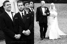 wedding; groom's reaction
