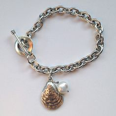 Pearl In My Oyster Bracelet, $21, now featured on Fab.