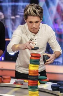 his concentration face is adorable
