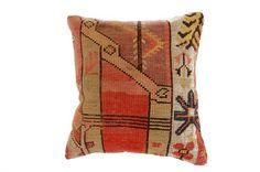 Turkish Kilim Pillow via Establishment Home