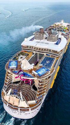 6 billion floating city u201cfreedom u201d to dwarf world s largest ships rh pinterest com