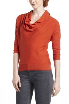 Space-Dyed Cowlneck $78 Anthropologie.com