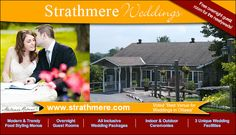 For over 30 years, Strathmere has created dream weddings for thousands of couples.
