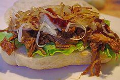 Pulled Pork, zarter Schweinebraten aus dem Ofen - fast original, nur ohne Grill 1