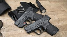 Smith & Wesson today announced the launch of its new M&P Shield pistol series, including the M&P Shield pistol w/ Integrated Crimson Trace Laser. M&p Shield 9mm, M&p 9mm, Hunting Outfitters, Smith N Wesson, Home Protection, Gun Control, Guns And Ammo, Concealed Carry, Firearms