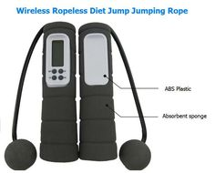 Wireless, Ropeless, Counting Skipping Rope 45% Off Was 32.99 Now 17.99 Great for Weightloss or Fitness Plan Exercise Burn Calories without getting tangled! Amazing! Super Cool