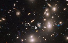 NASA's Hubble Telescope has spotted a record-breaking far away galaxy through a 'cosmic magnifying glass', offering a peek into how the universe was formed and evolved over time. The galaxy, estimated to be more than 13 billion light-years away, was observed due to the immense magnifying power of the clusters.