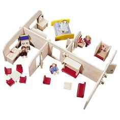 guidecraft block play dollhouse