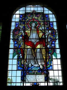 Stained Glass Window, St Mary's Church, Threlkeld. | Flickr - Photo Sharing!