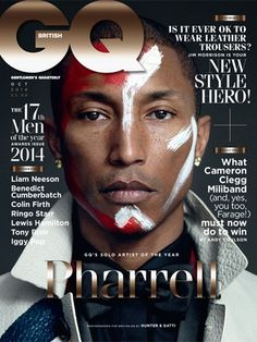 British GQ's Men Of The Year issue - October 2014
