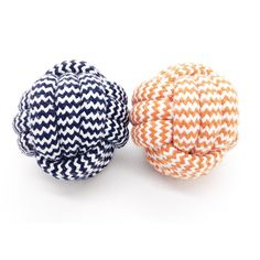 2-Pack Puppy Chewing Teething Ball Toy, Cotton Rope Knot Monkey Fist Ball Interactive Floss Dog Chew Toy Small 2.4 inches, Color Sorted *** Click on the image for additional details. (This is an affiliate link) #DogChewToys
