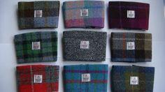 Harris tweed coffee sleeve made in Scotland tartan gift Scottish gift man gift woman gift Scottish gift. on Etsy, $15.00