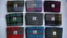 Harris tweed coffee sleeve made in Scotland tartan gift Scottish gift man gift woman gift Scottish gift. on Etsy, $15.00