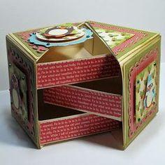 Paper box #diy #crafts                                                                                                                                                     More