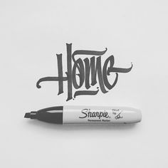 1,592 vind-ik-leuks, 9 reacties - Rodney ⚡ Ibarra (@jexpo76) op Instagram: 'Home. 🏡' Graffiti Lettering Fonts, Creative Typography, Typography Letters, Lettering Design, Graffiti Doodles, Graffiti Words, Graffiti Writing, Sharpie Drawings, Sharpie Art