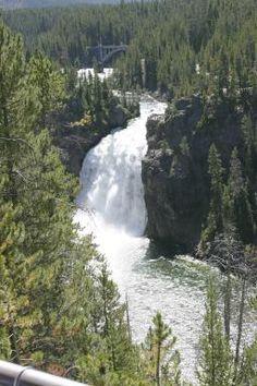 Yellowstone Upper Falls (1,430 feet, 440 miles)