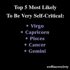 Virgo. Always.