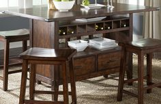 Round Counter Height Dining Table With Wine Storage Base  Incredible Dining Table With Wine Storage  1241 X 800