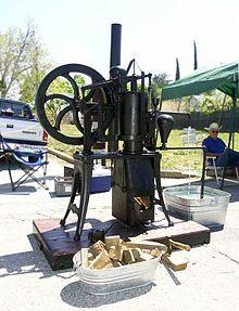 Ericsson hot air engine - Stirling engine - Wikipedia, the free encyclopedia Steam Motor, Stirling Engine, Portable Generator, Metal Working Tools, Natural Building, Alternative Energy, Engineering, Metalworking, Workshop
