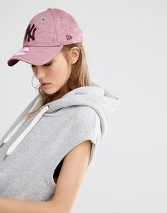 New Era - Jersey 9Forty - Casquette - Rose chiné