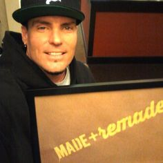 Vanilla Ice is ready for Made + Remade! #maderemade