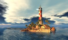 """""""The Lighthouse at the Blake Sea,"""" by Yordie Sands"""