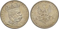 NumisBids: Nomisma Spa Auction 50, Lot 409 : Umberto I (1878-1900) Eritrea - Tallero 1891 – Pag. 630; Mont. 80...