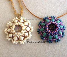 """TUTORIAL """"Hibiscus"""" pendant"""